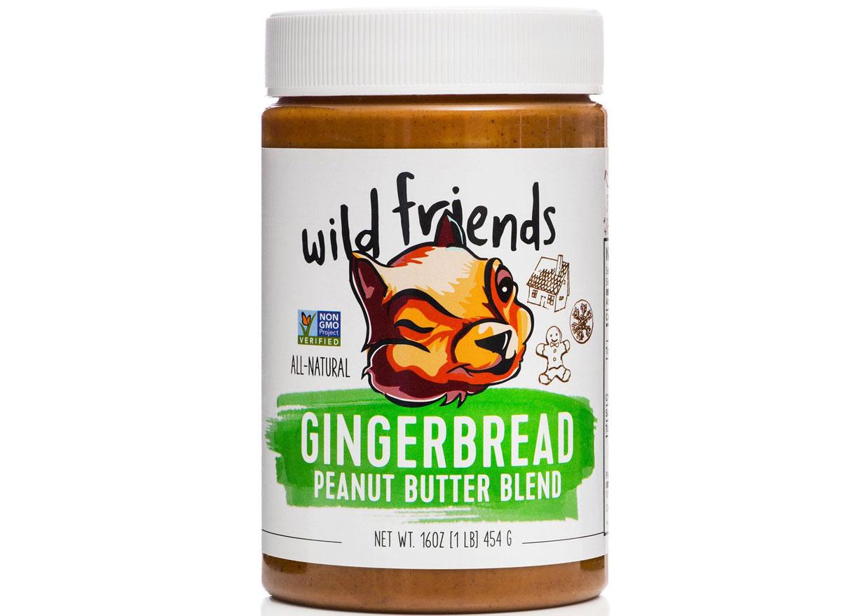 wild friends gingerbread peanut butter