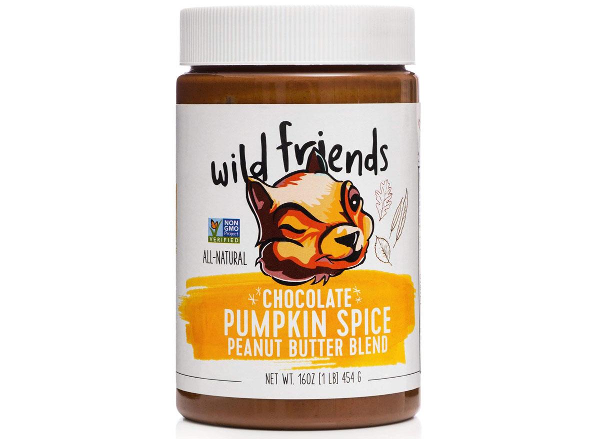 wild friends chocolate pumpkin spice peanut butter