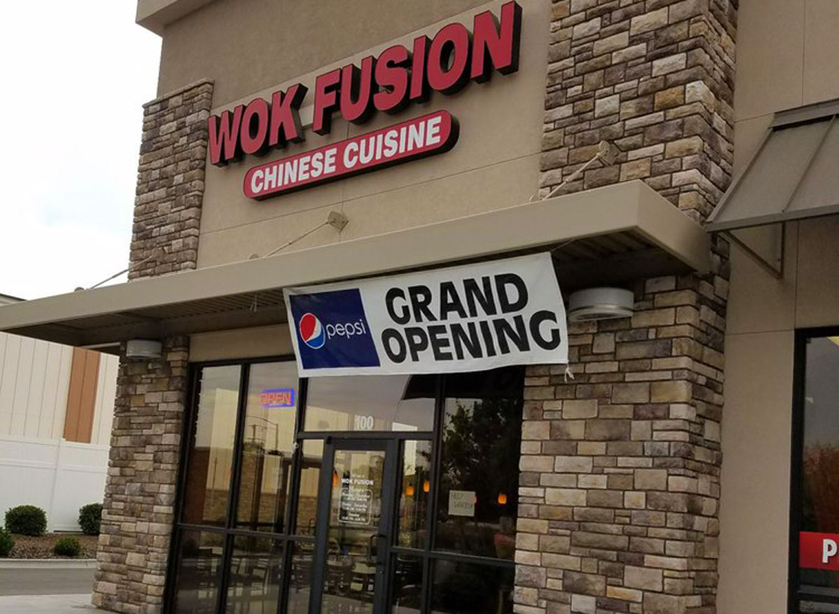 wok fusion chinese restaurant