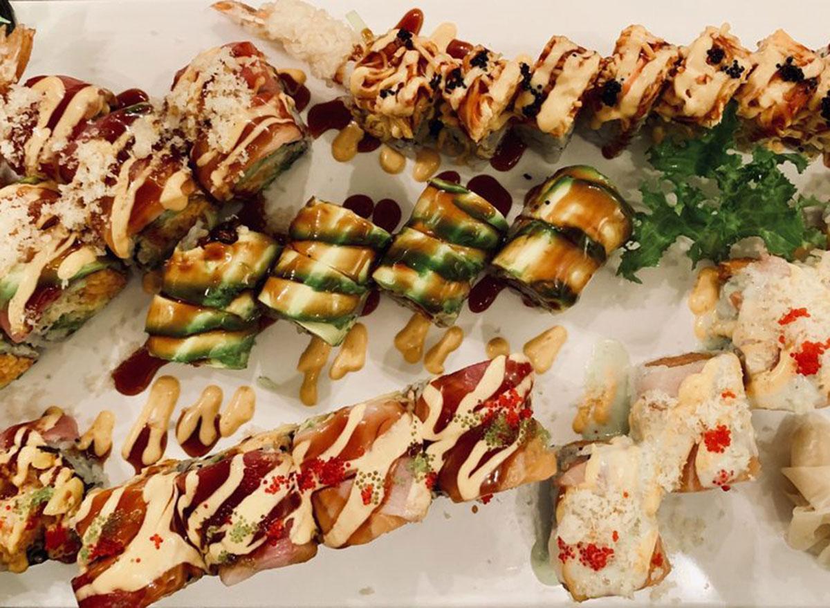 zuki sushi house chinese restaurant