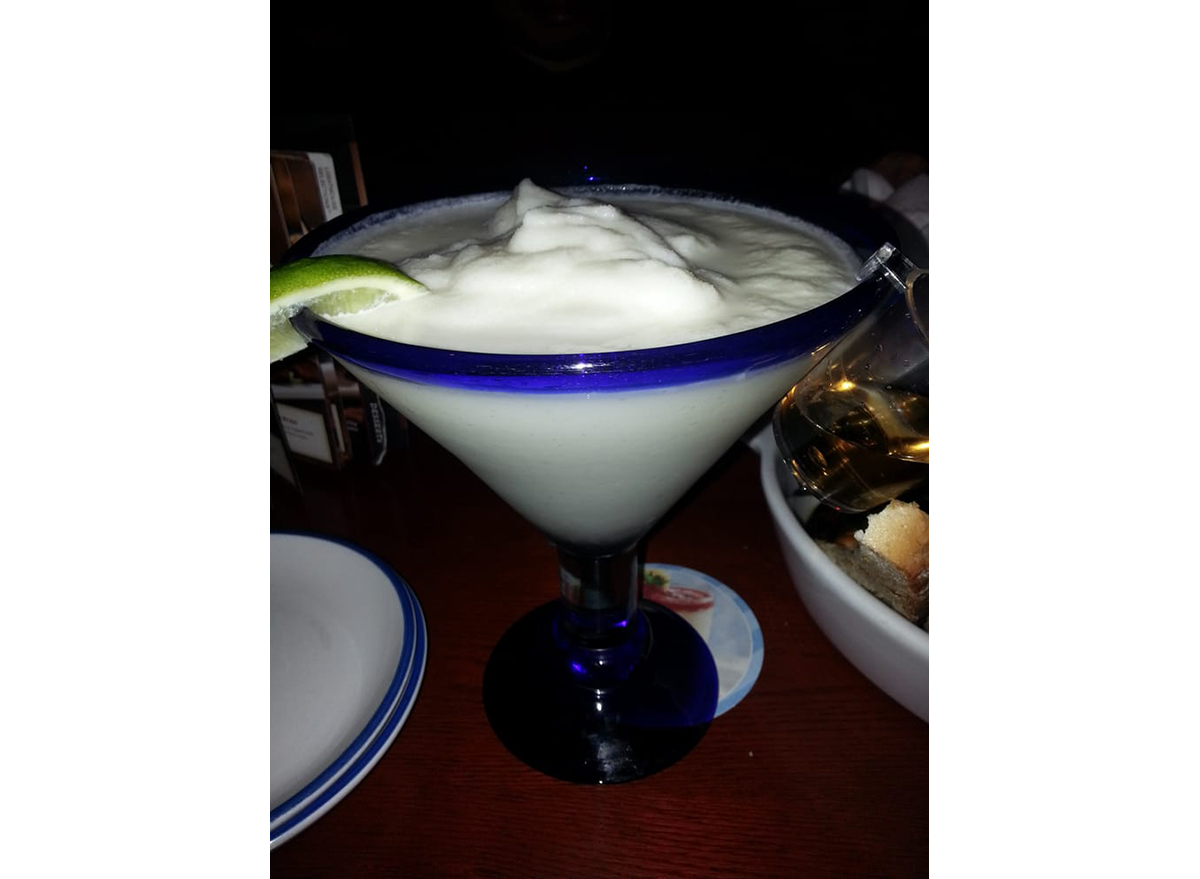 Alotta Colada cocktail from red lobster