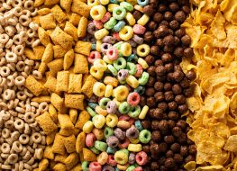 assorted kinds of cereal