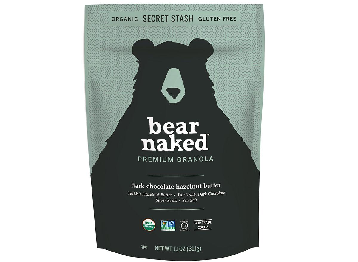 bear naked dark chocolate hazelnut butter flavored gluten free granola