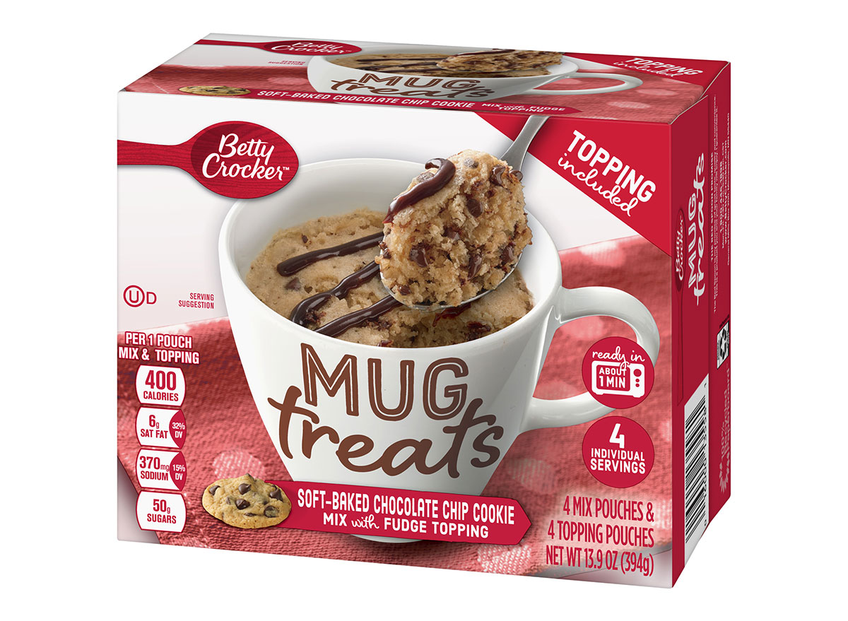 betty crocker soft baked chocolate chip cookie mix with fudge topping box