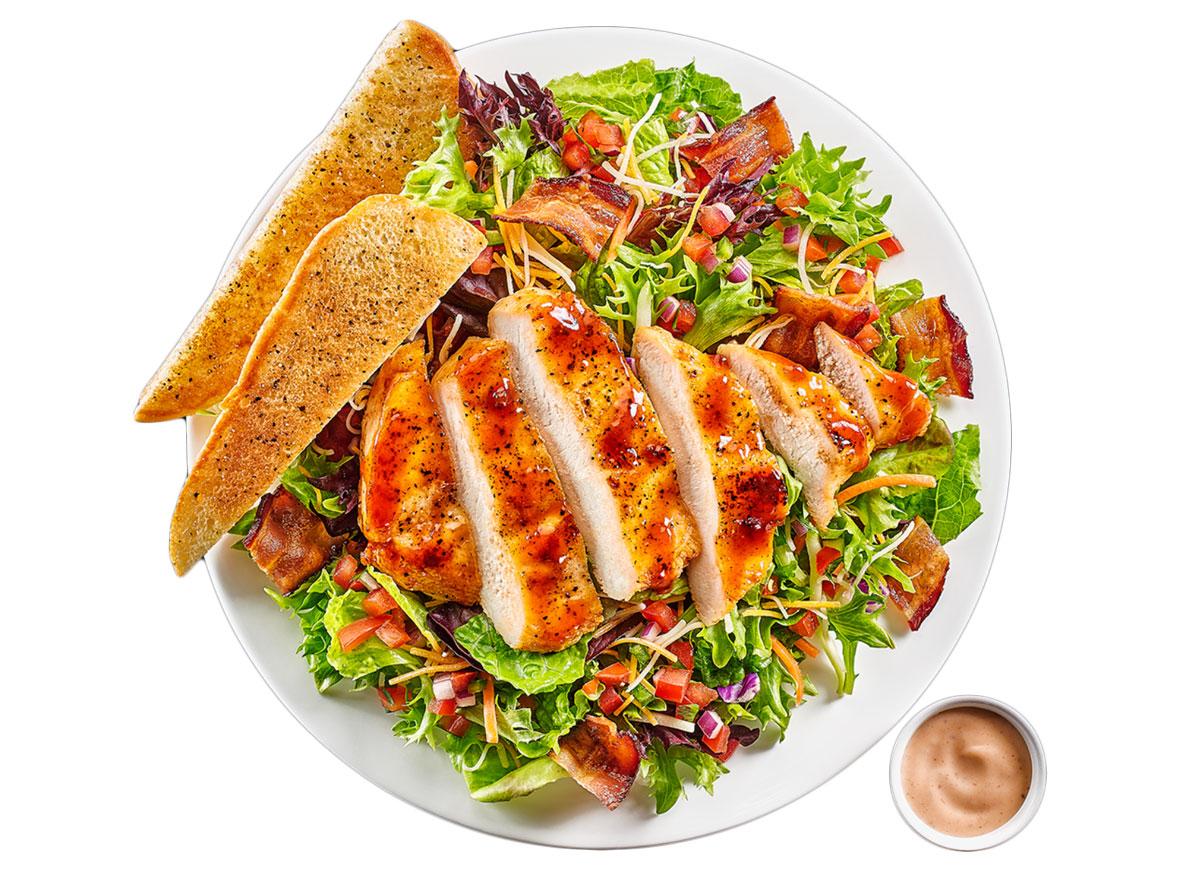 Buffalo wild wings bbq chicken salad