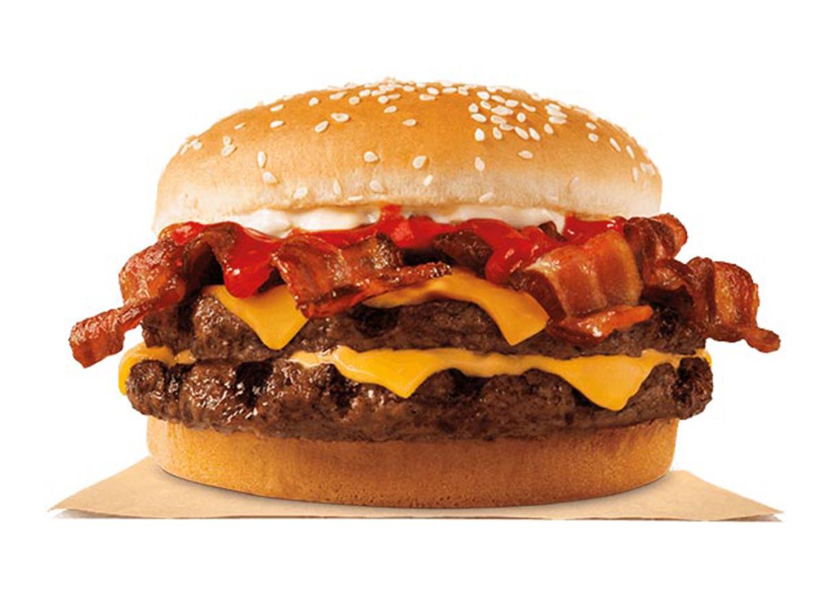 burger king bacon king burger