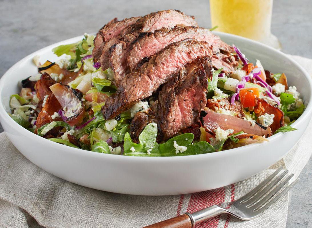 california pizza kitchen steak salad