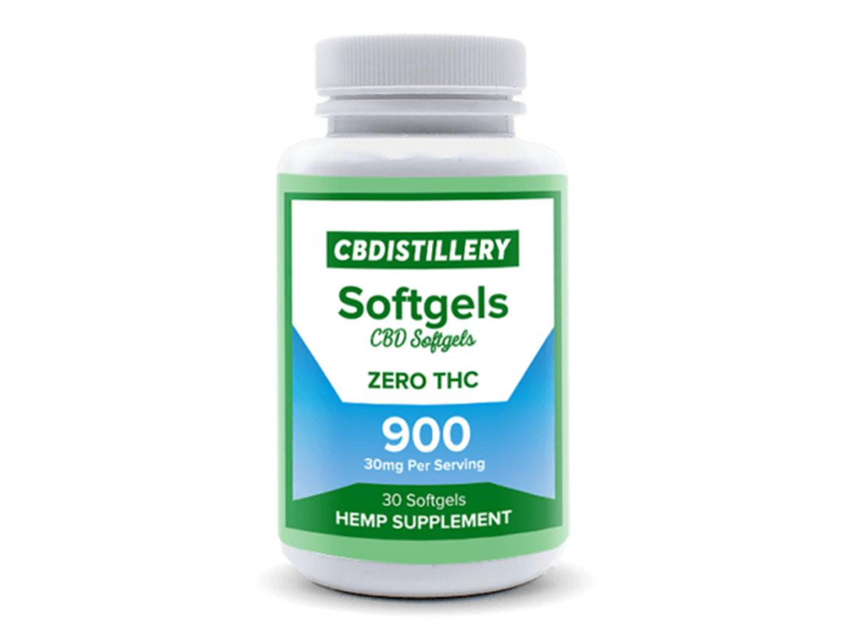 cbdistillery softgels cbd softgels - cbd product