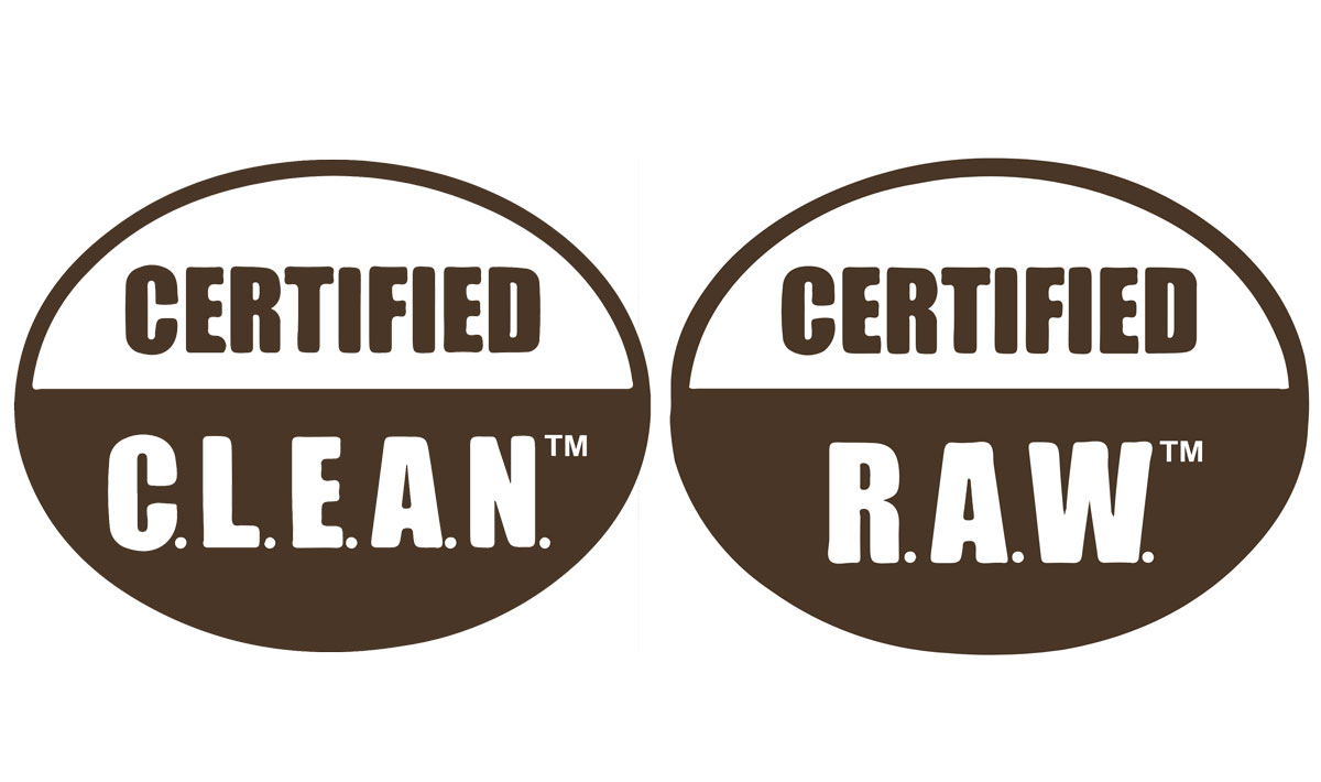 certified clean raw certification