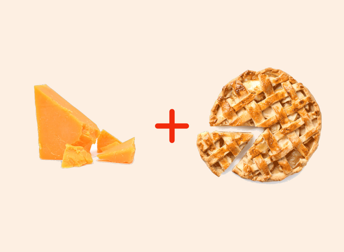cheddar cheese with apple pie amazing food pairings