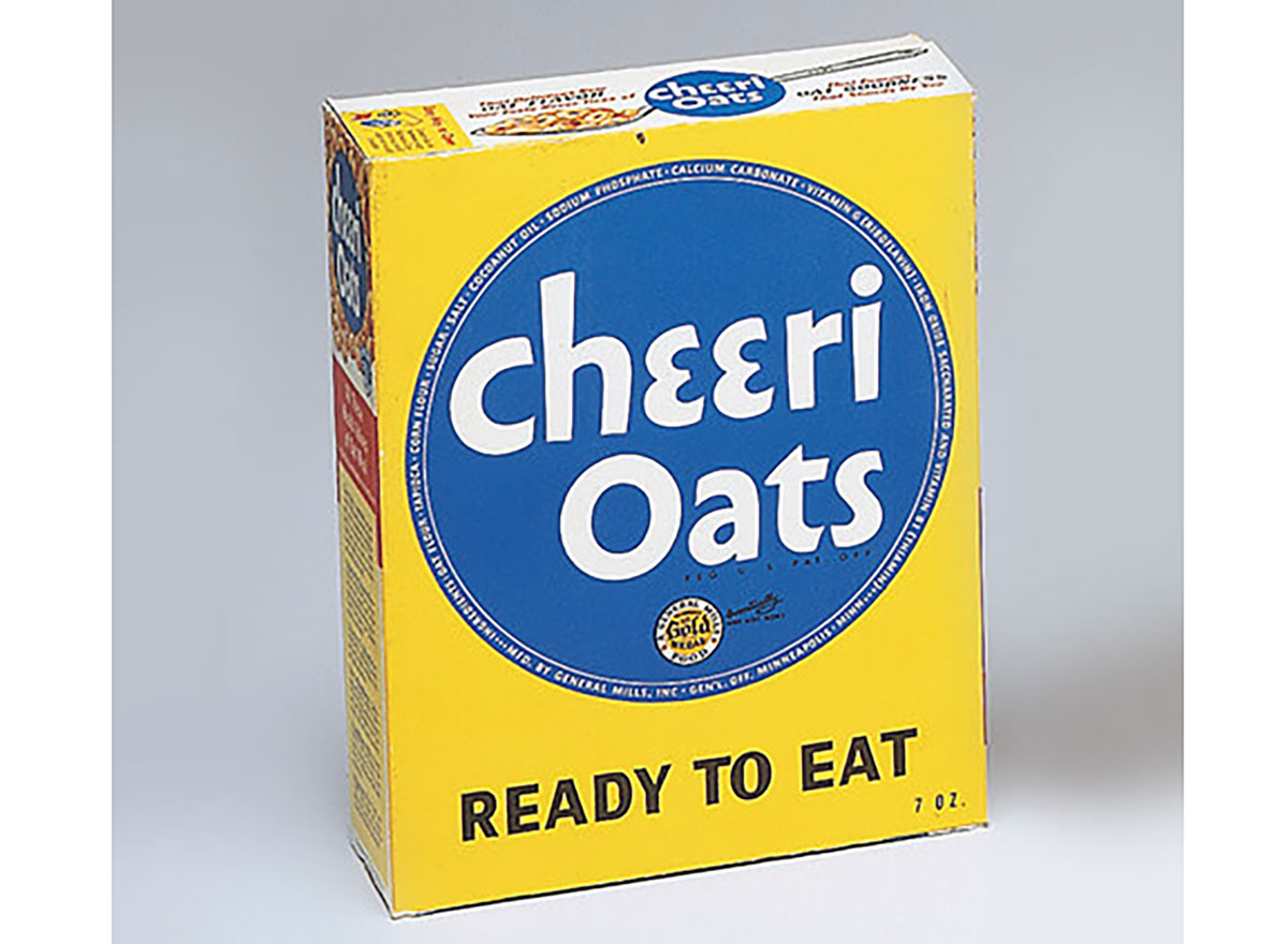 cheerioats cereal box