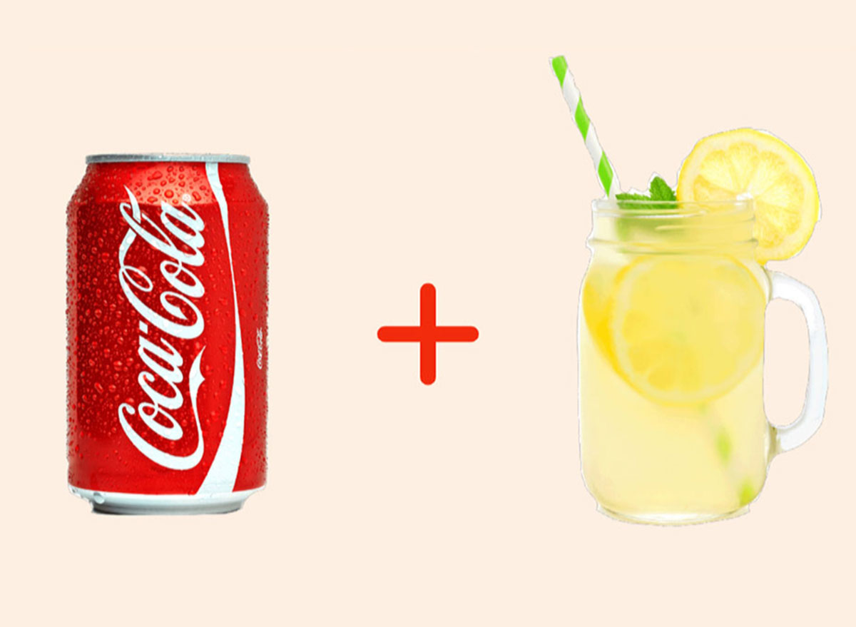 coke with lemonade gross drink combo