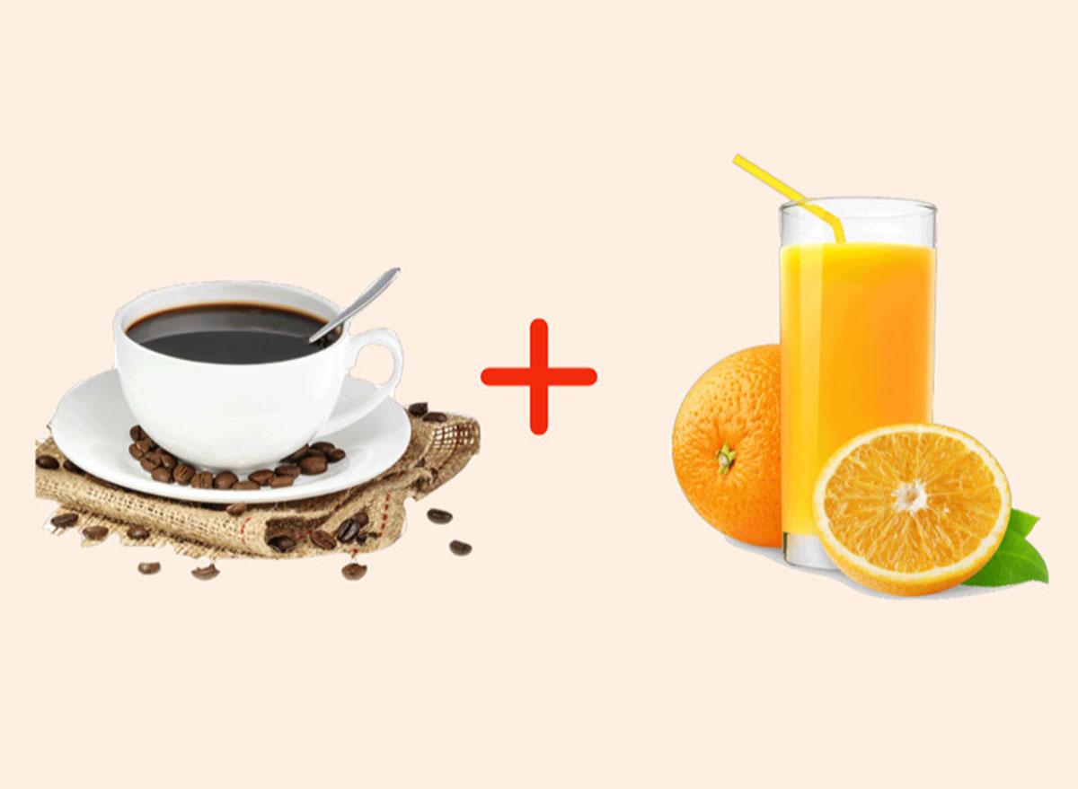 coke with orange juice gross drink combo