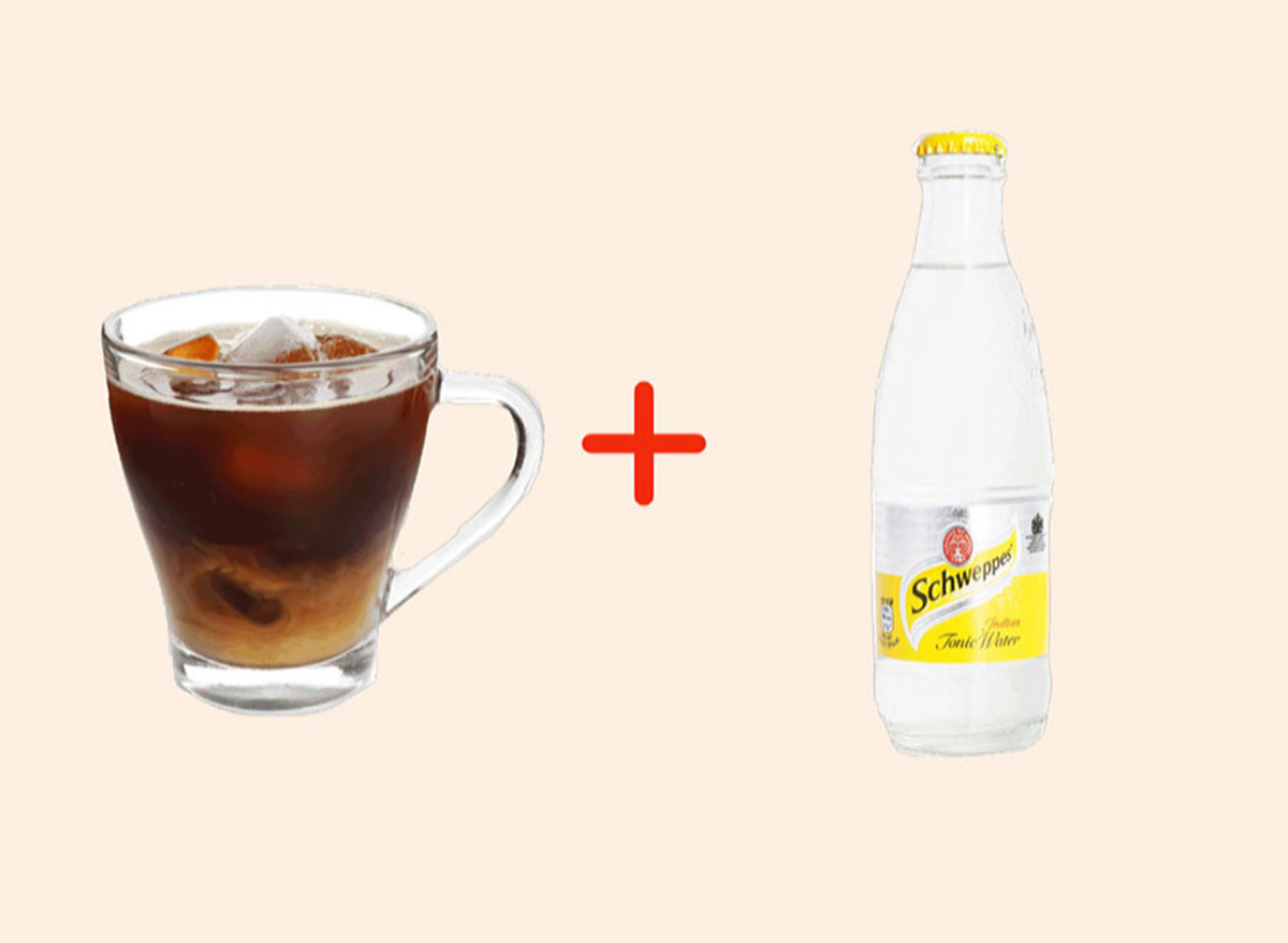 cold crew with tonic water gross drink combo