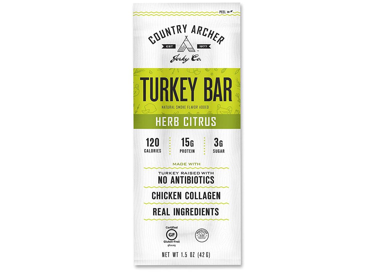 country archer herb citrus turkey bar