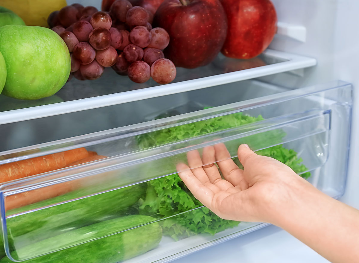 crisper drawer fridge