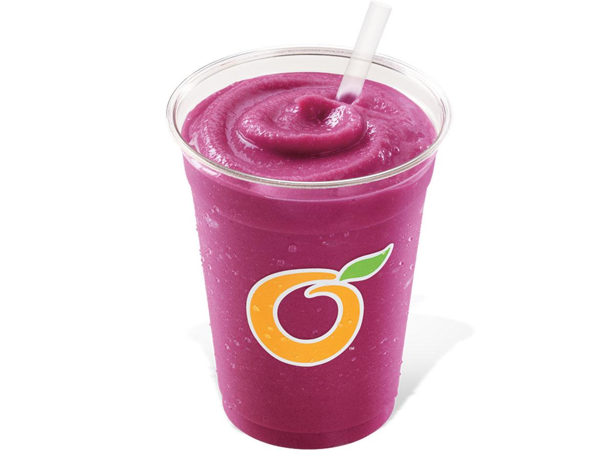 Dairy queen tripleberry smoothie - unhealthiest, worst smoothies