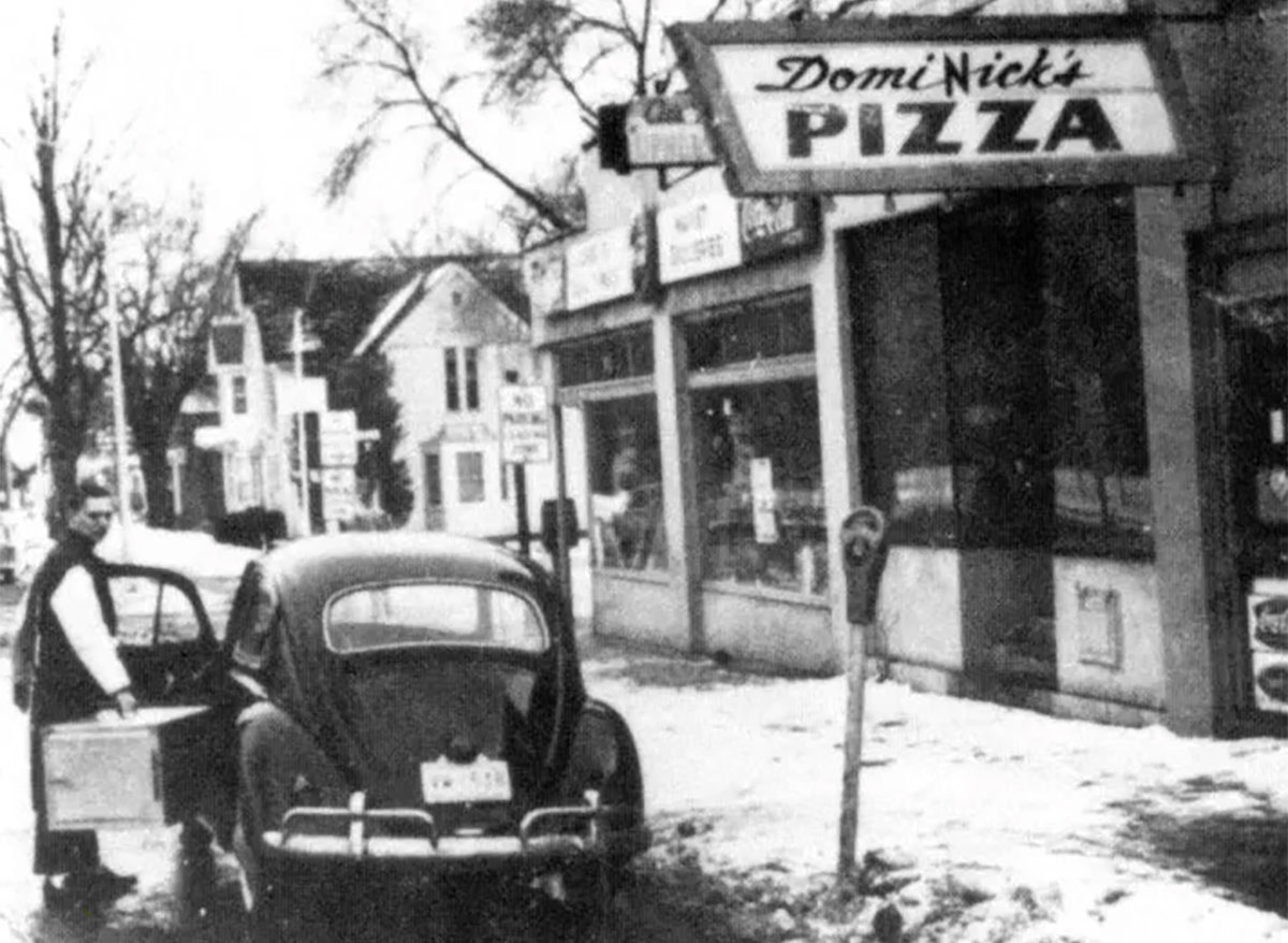 dominos original location