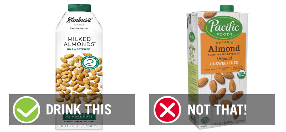 drink this not that almond milk