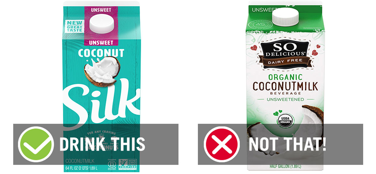 drink this not that coconut milk