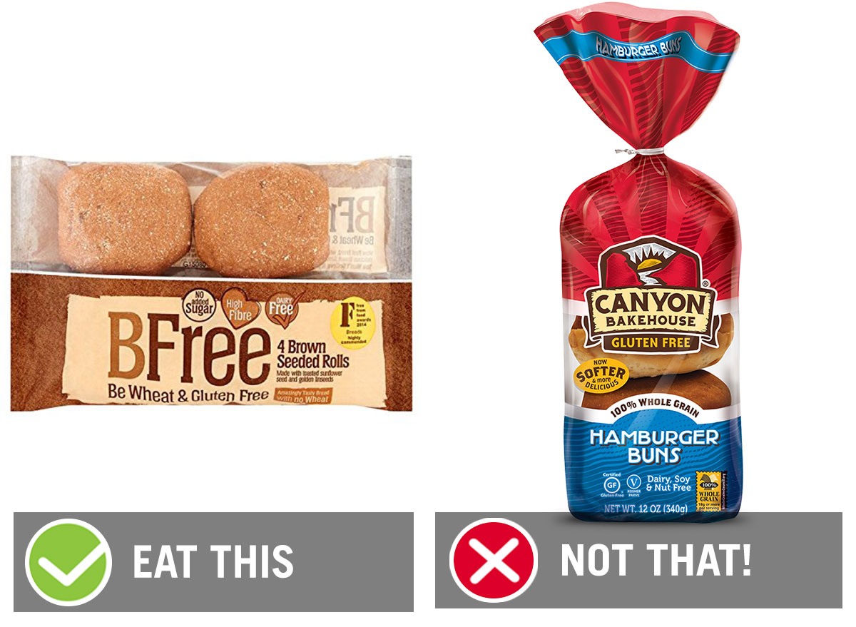eat this not that gluten free buns