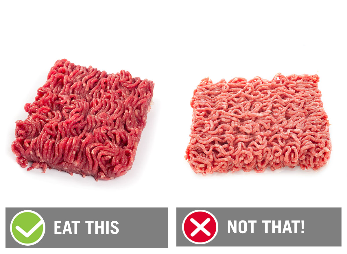 eat this not that ground beef