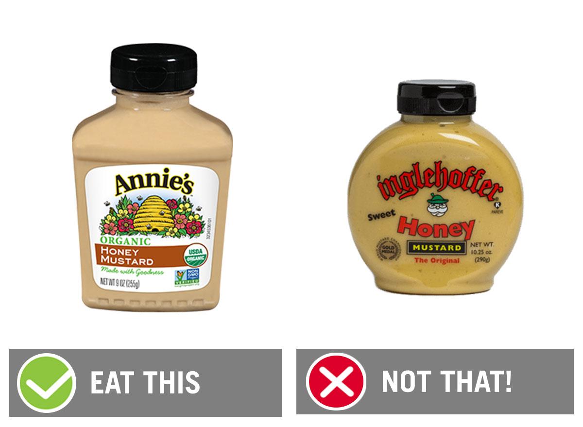 eat this not that honey mustard
