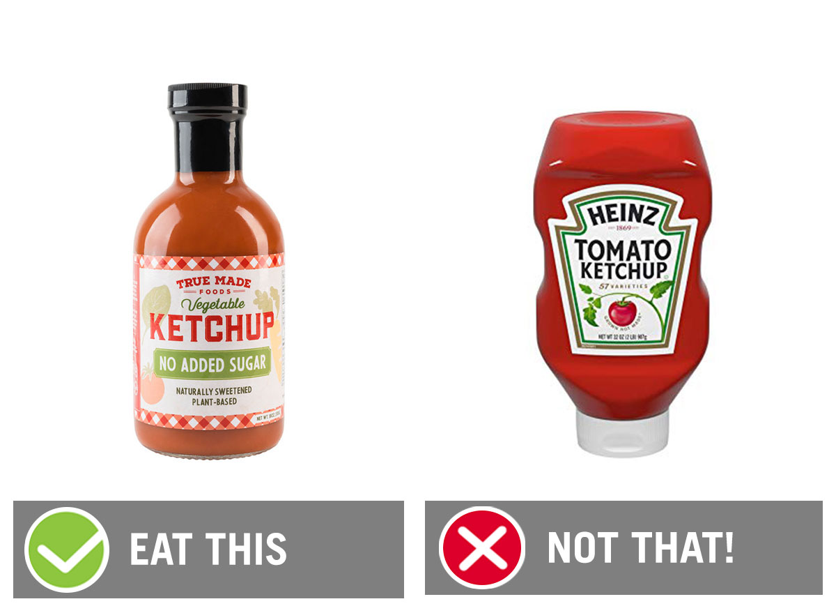 eat this not that ketchup