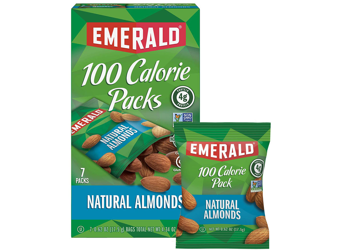 Emerald Natural Almonds 100 Calorie Packs
