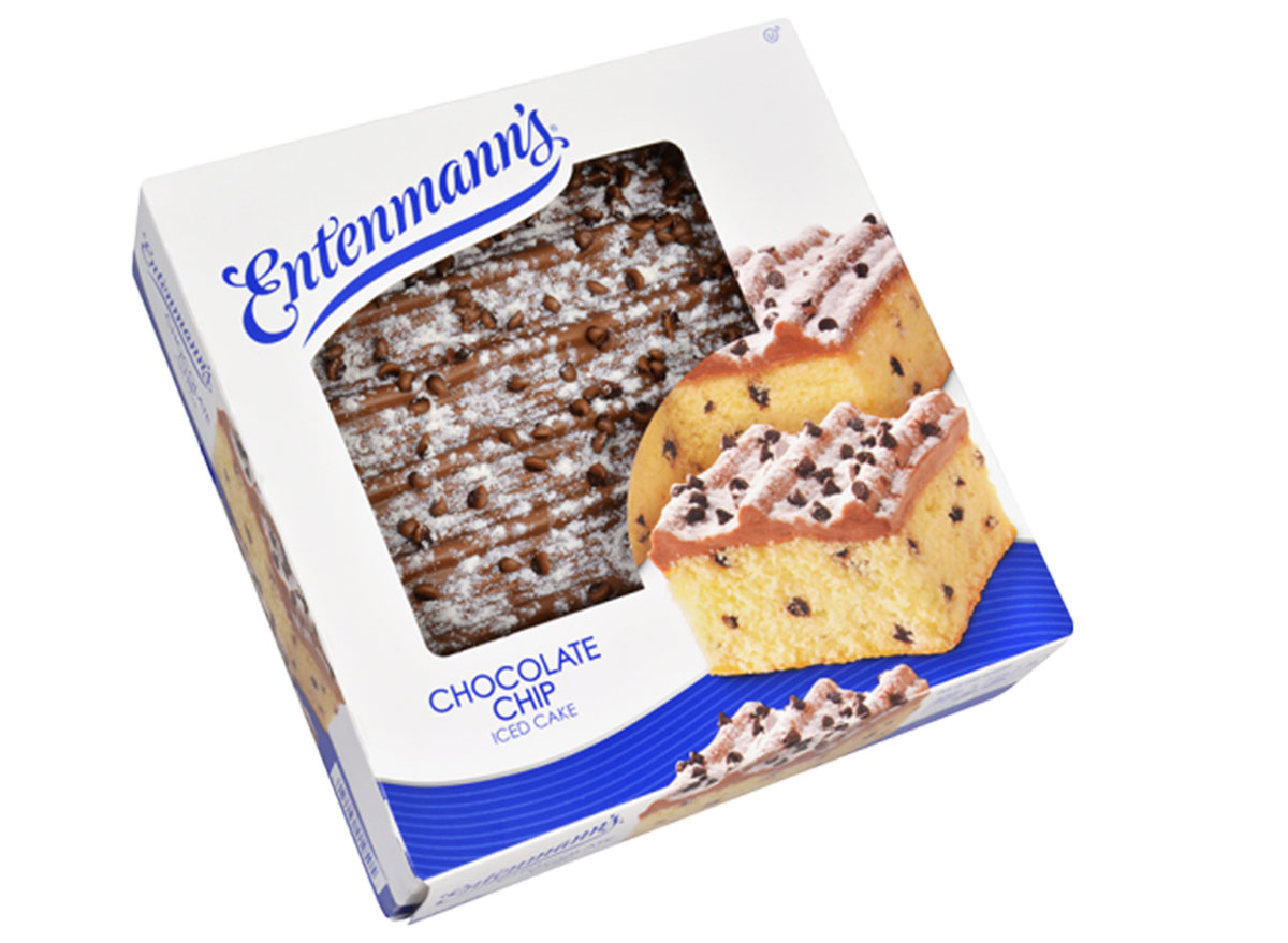 entenmann's chocolate chip ice cake box