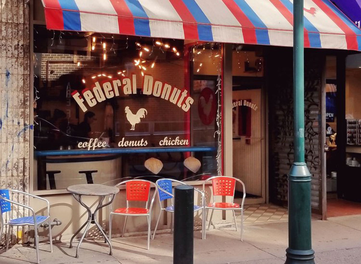 federal donuts store entrance