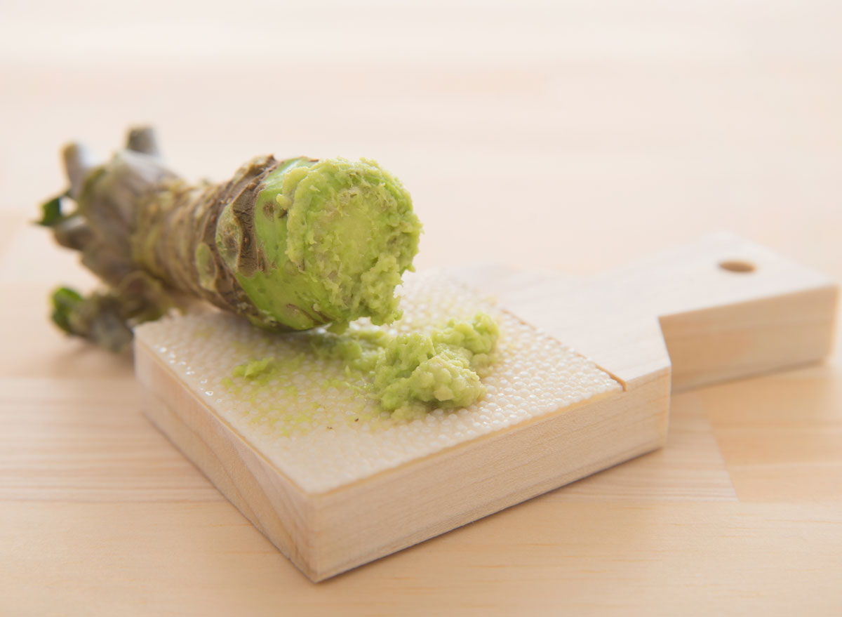 grated wasabi root