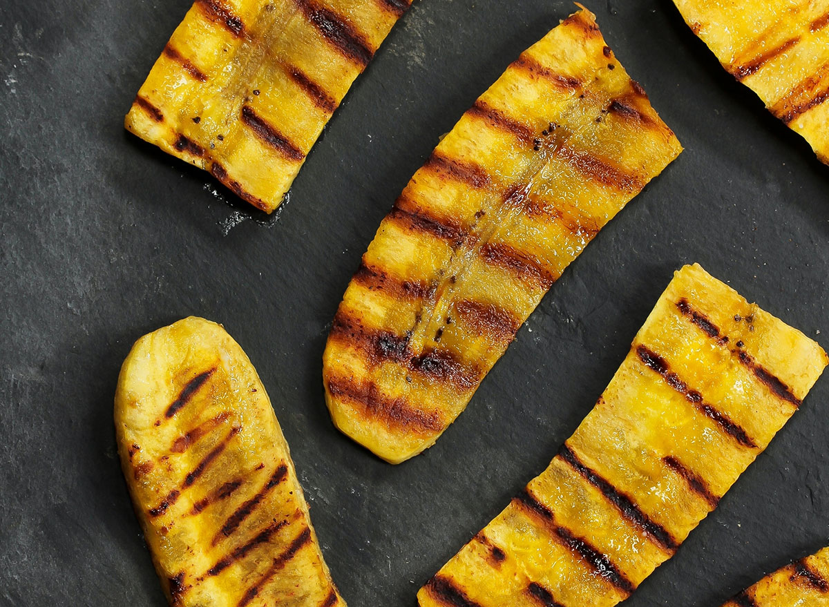 grilled plantain