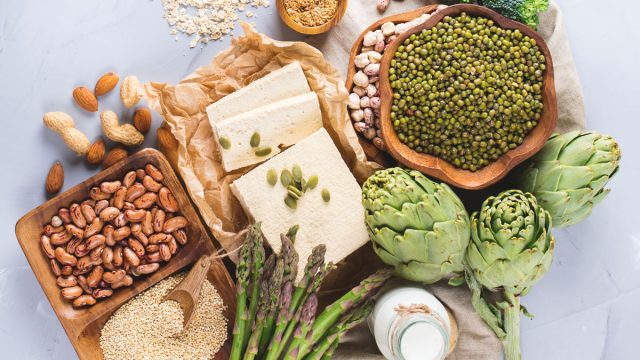 High and low fodmap food examples