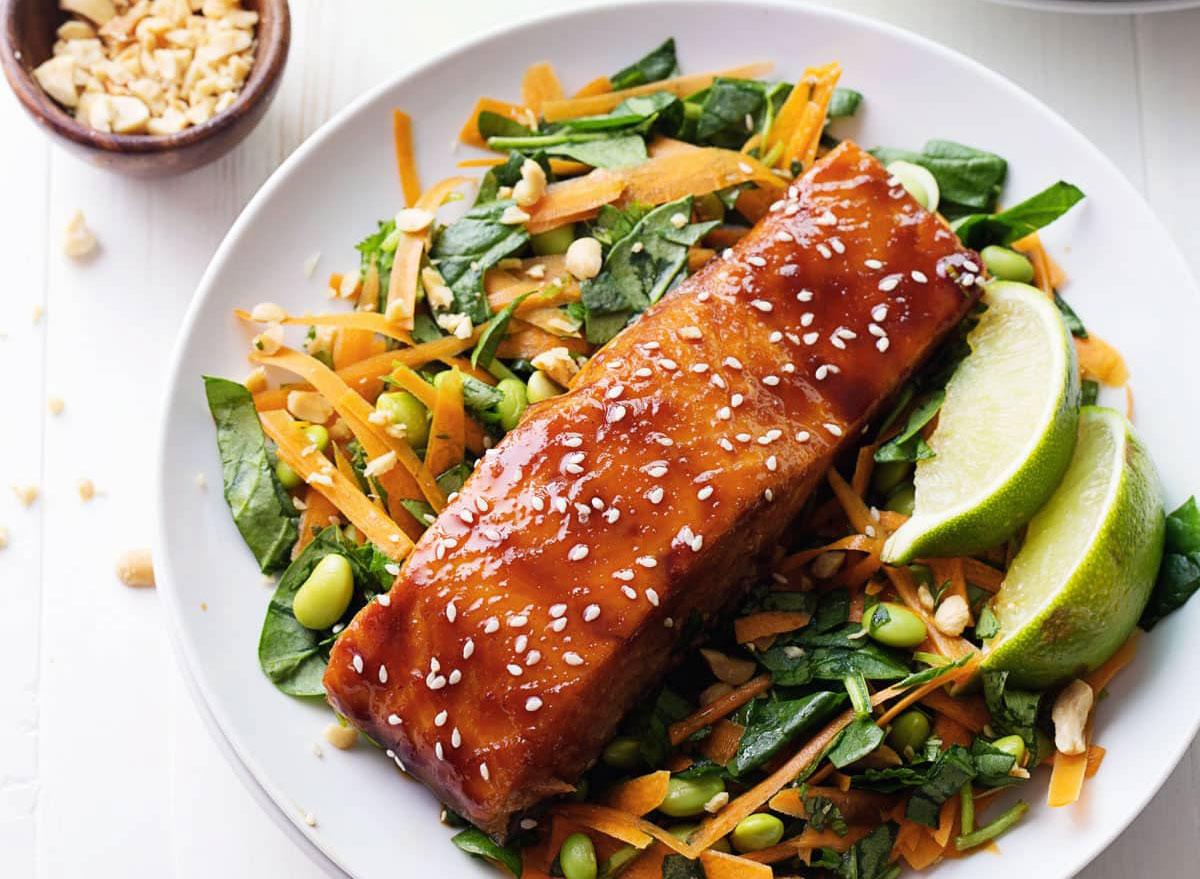 hoisin glazed salmon recipe