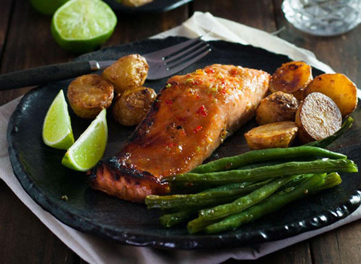 honey chili lime salmon recipe