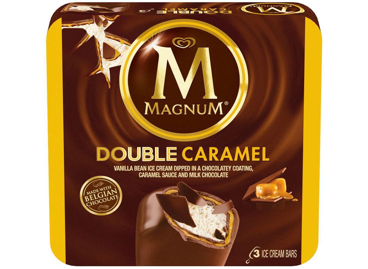 magnum double caramel bar