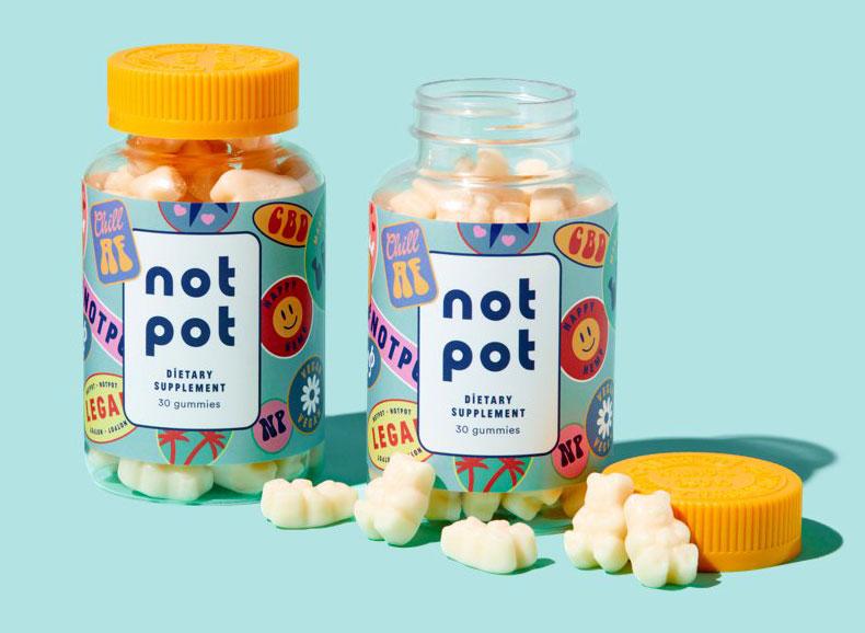 not pot cbd gummies products