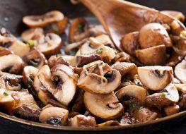pan roasted mushrooms onions
