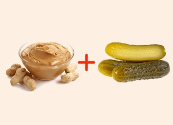 peanut butter with pickles amazing food pairings