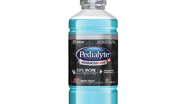 pedialyte advanced care berry frost flavor