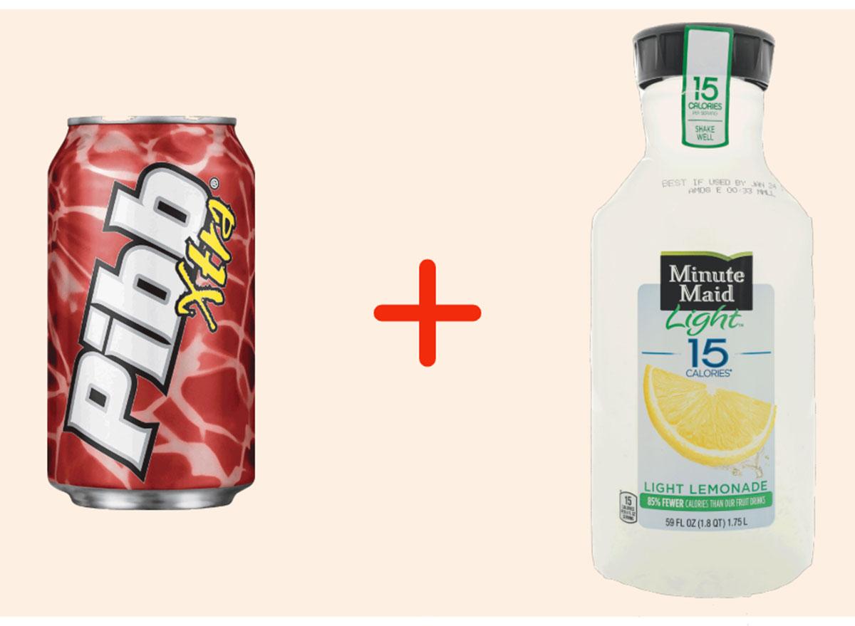 pibb with lemonade gross drink combo