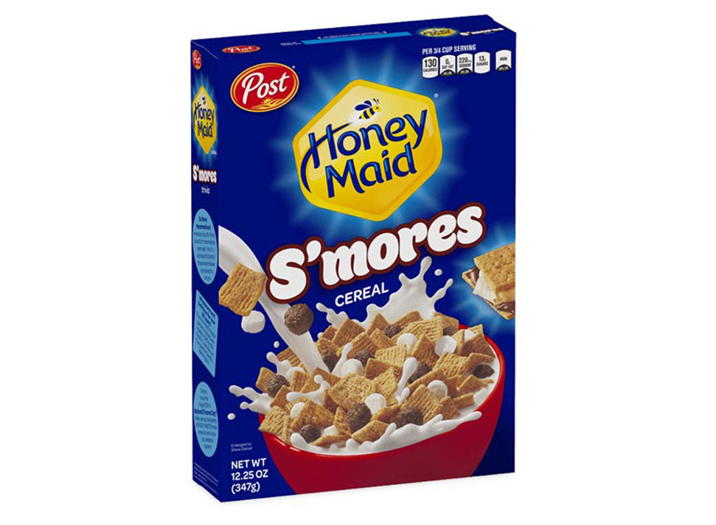 Post honey maid smores cereal - unhealthiest worst cereals
