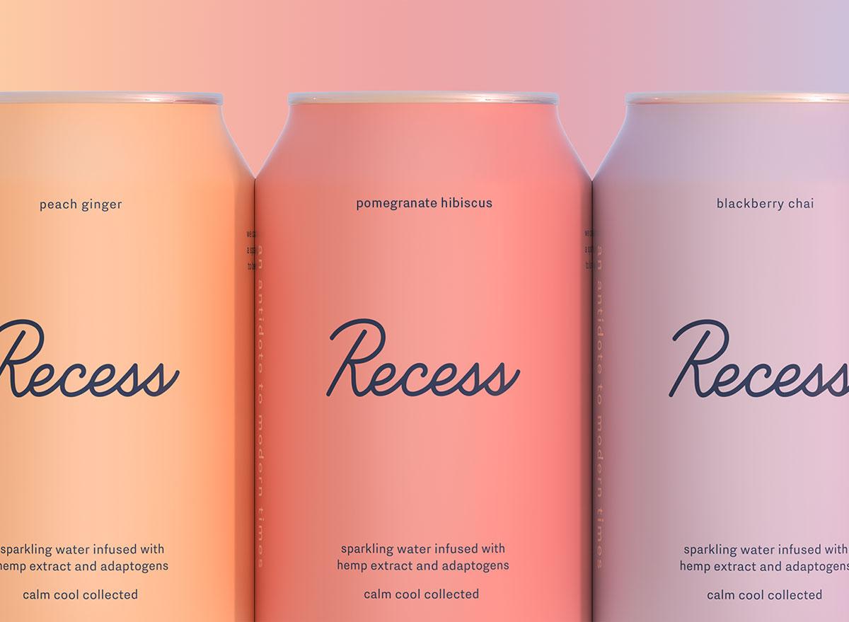 recess cbd soda cans - cbd product