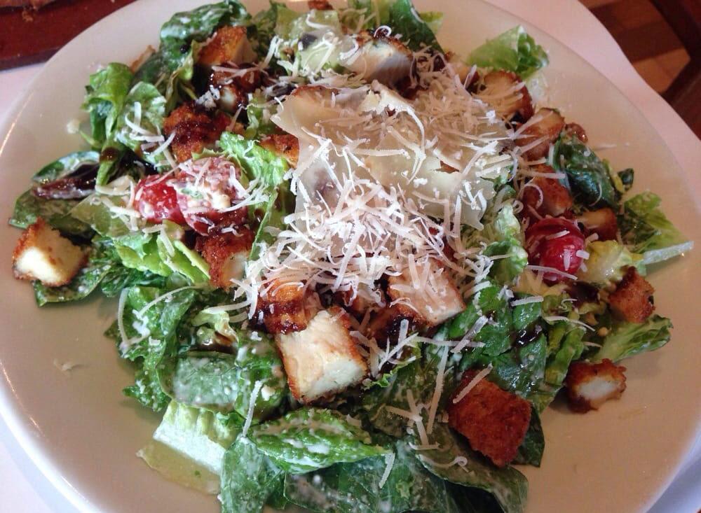 romano's grill parmesan crusted salad