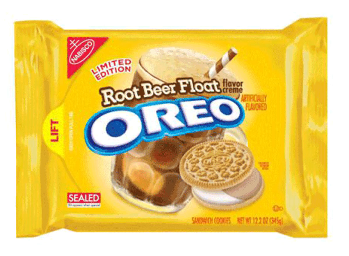 root beer float flavor creme oreo pack limited edition