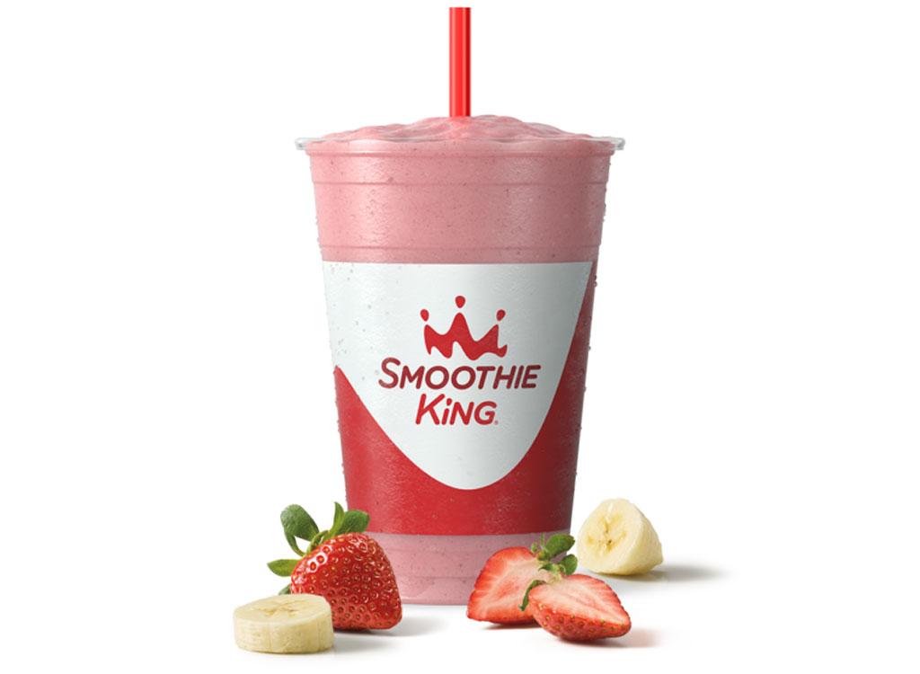 Smoothie king hulk strawberry smoothie - unhealthiest, worst smoothies