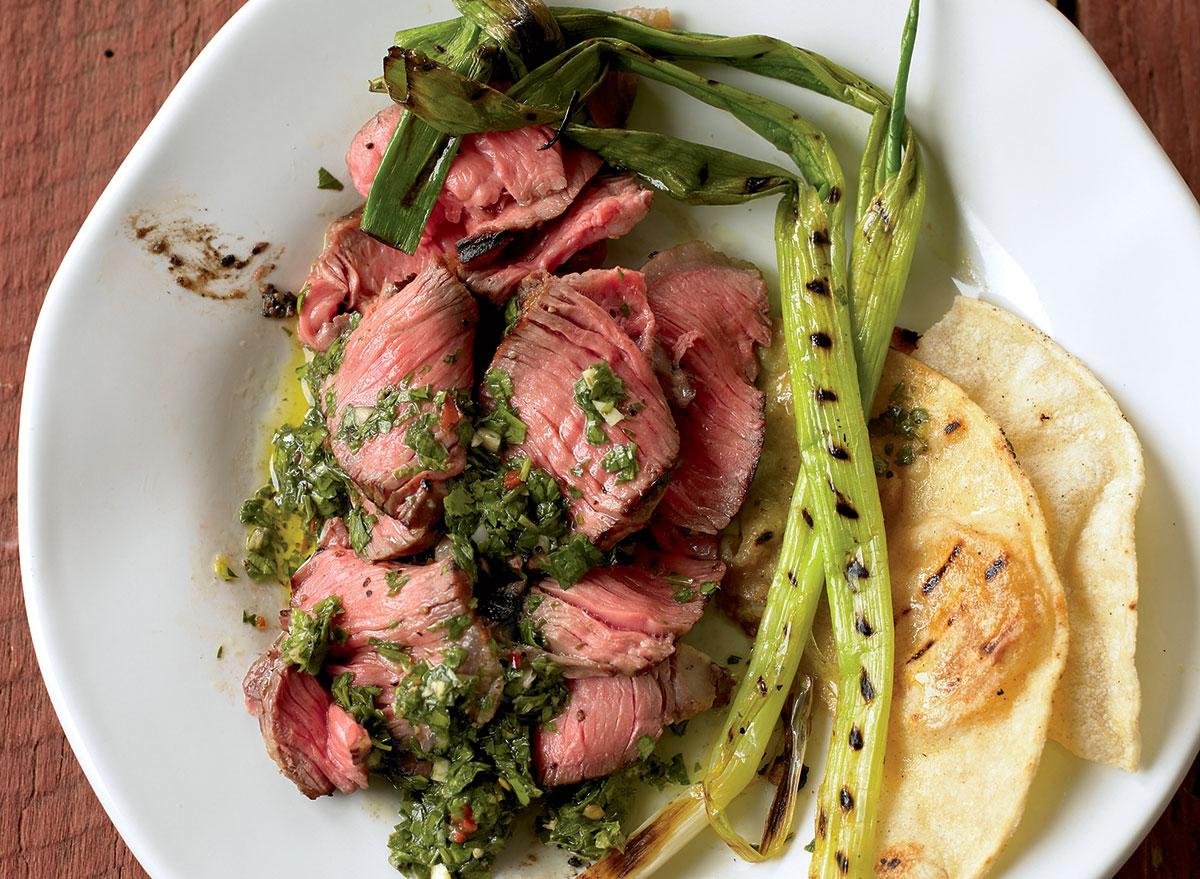 steak chimichurri recipe