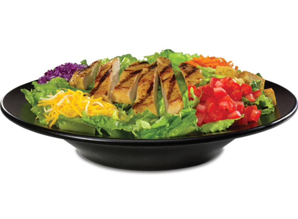 Steak n shake grilled chicken salad