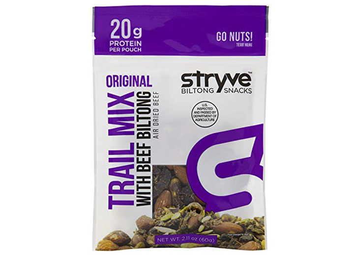 stryve beef biltong trail mix